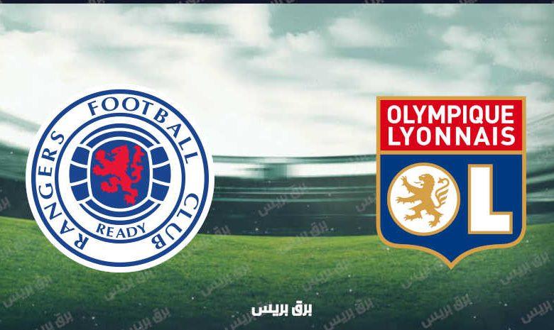 موعد مباراة ليون وجلاسكو رينجرز القادمة والقنوات الناقلة فى الدوري الأوروبي
