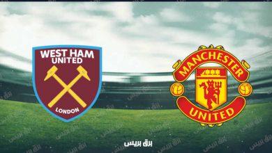 صورة موعد مباراة مانشستر يونايتد ووست هام يونايتد القادمة والقنوات الناقلة فى الدوري الإنجليزي