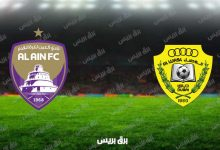 صورة نتيجة مباراة العين والوصل اليوم فى الدوري الاماراتي