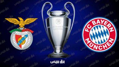 صورة موعد مباراة بايرن ميونيخ وبنفيكا القادمة والقنوات الناقلة فى دوري أبطال أوروبا