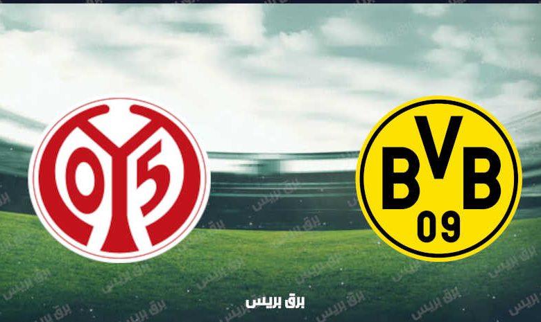 موعد مباراة بوروسيا دورتموند وماينز القادمة والقنوات الناقلة فى الدوري الألماني